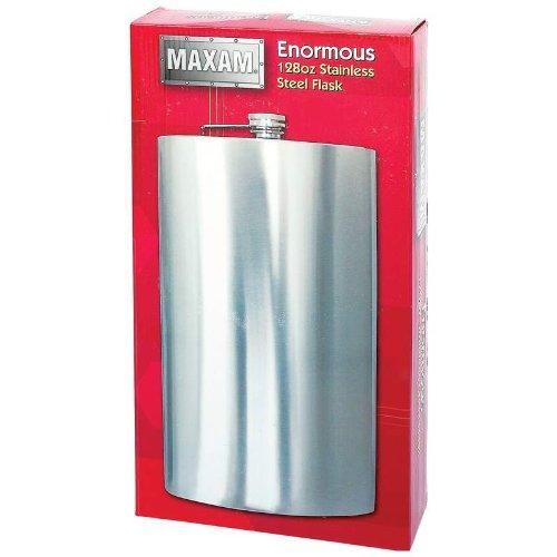 Maxam-KTFLK128-Maxam-Enormous-1-Gallon-Ss-Flask-0