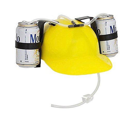 Beer-and-Soda-Guzzler-Helmet-Yellow-0