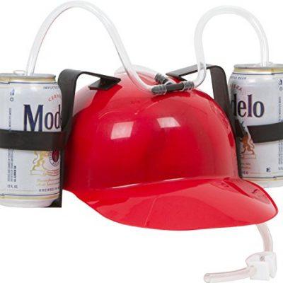 Beer Guzzling Helmet