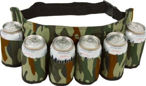 EZ-Drinker-Beer-Soda-Can-Holster-Belt-Holds-6-Beverages-0