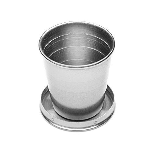 An assembled shotglass from the VSSL Flask/Flashlight