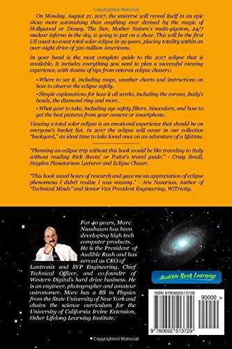 back cover of Solar Eclipse 201 your guide to the next US Eclipse