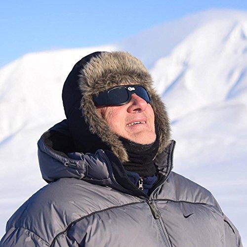 doofus with premium solar eclipse sunglasses