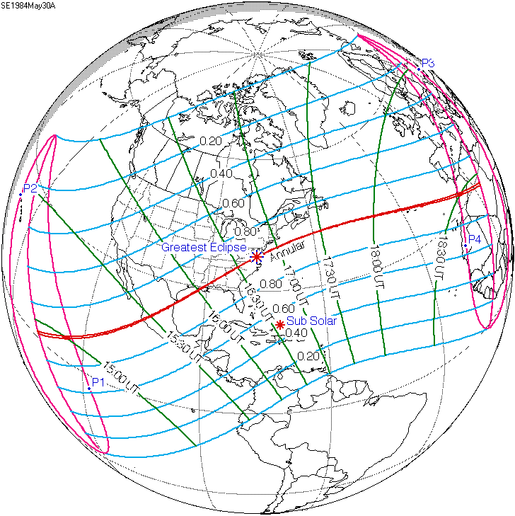 Solar eclipse of May 30, 1984