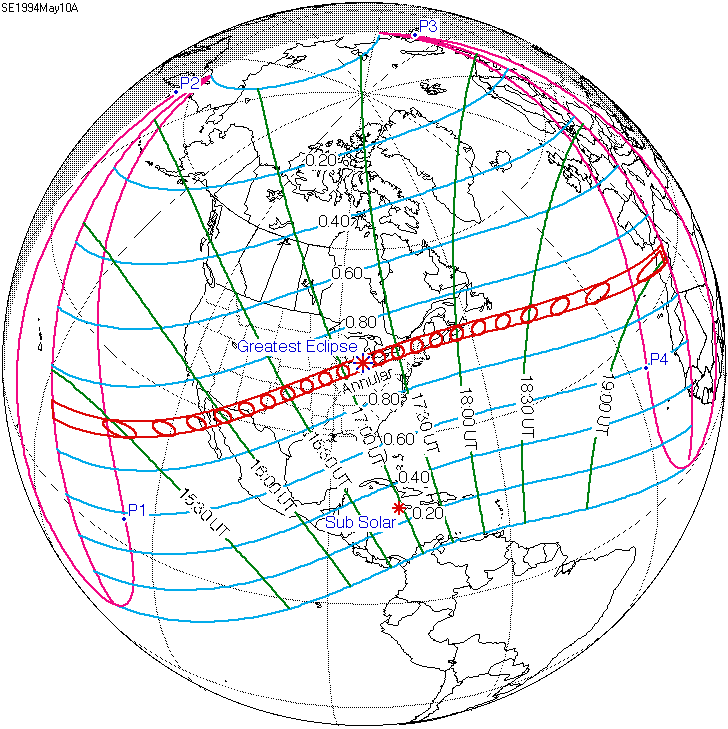 Solar eclipse of May 10, 1994