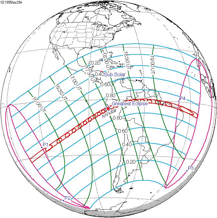Solar eclipse of April 29, 1995