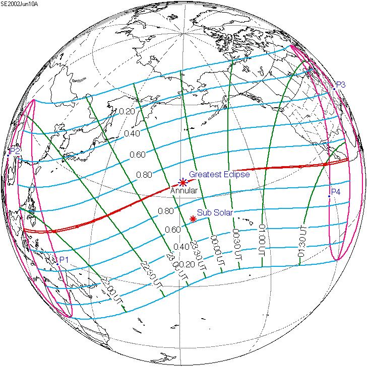 Solar eclipse of June 10, 2002