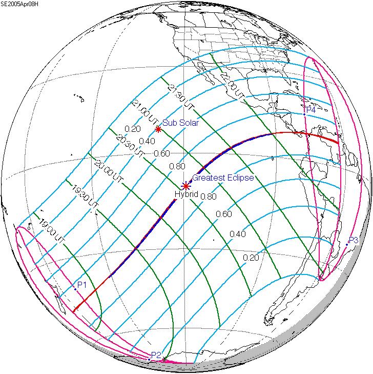 Solar eclipse of April 8, 2005