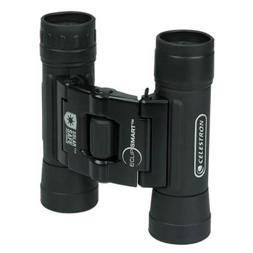 Celestron EclipSmart 10x25 Solar Viewing Binoculars - side