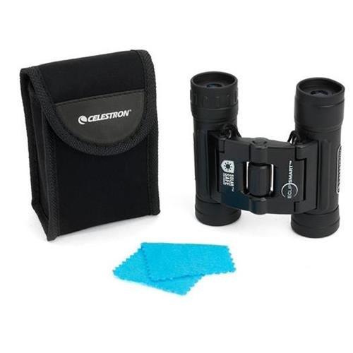 Celestron EclipSmart 10x25 Solar Viewing Binoculars - whole package