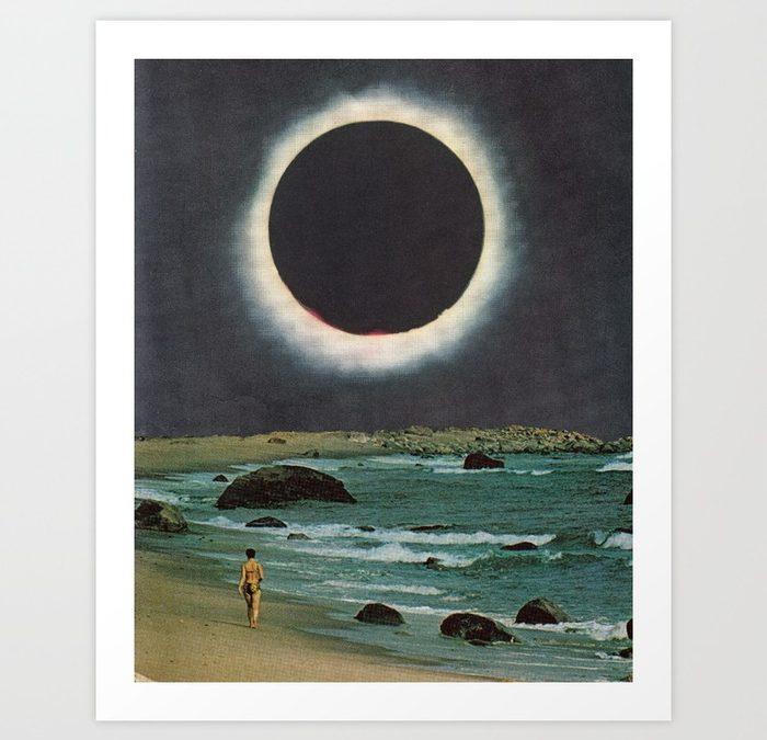 """""""Corona Tide"""" Print by Leafandpetal"""