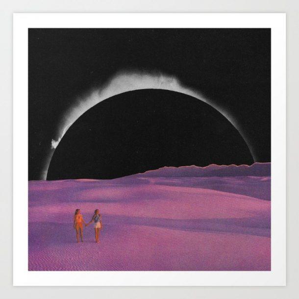 """""""Eclipsia"""" Print by Mariano Peccinetti"""