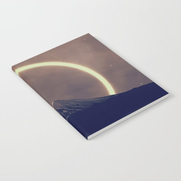 """Notebook with Cover Design of """"tenebrific II"""" from Soaring Anchor Designs"""