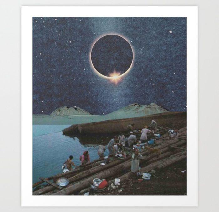 """""""Nile Waters"""" Print by HHeininge Art"""