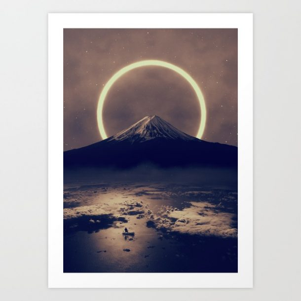 """tenebrific II"" Print by Soaring Anchor Designs"